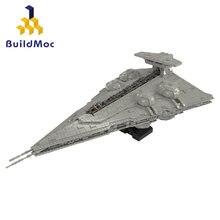Yıldız MOC savaşları serisi oynanabilir Interdictor Cruiser Cruiser yapı taşları tuğla çocuk oyuncakları noel hediyeleri