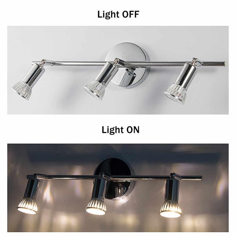 [DBF]360 درجة تدوير سطح شنت GU10 LED النازل الدافئة/الباردة نجفة بيضاء بقعة ضوء للمطبخ الموافقة المسبقة عن علم التلفزيون خلفية