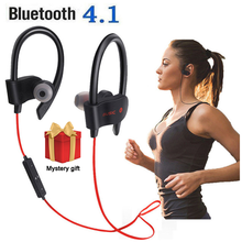 558 Bluetooth Earphone Earloop Earbuds Stereo Bluetooth Headset Wireless Sport music Handsfree With Mic For All Mobile Phone