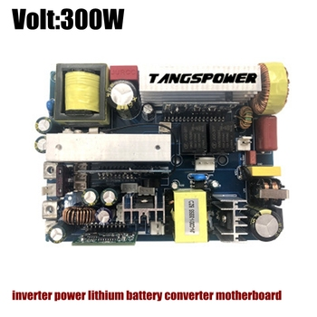 300W500W1000W pure pure wave UPS inverter power lithium battery converter motherboard