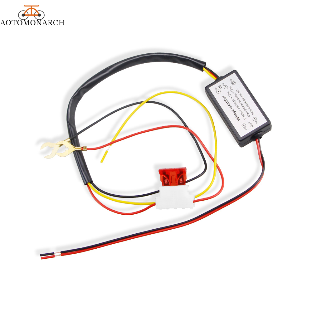 DRL Controller Auto Car LED Daytime Running Light Relay Harness Dimmer On/Off 12V Fog Light Controller 2016