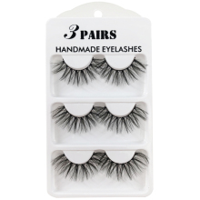 Faux 3D Mink Lashes Natural Long False Eyelashes Dramatic Fake Lashes Makeup Extension Eyelashes