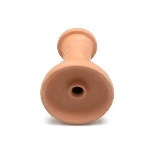 1 X керамическая чаша для кальяна Nargila чаша для кальяна + Кремниевая втулка для чаша для кальяна головка для Хранителя тепла Аксессуары для кальяна