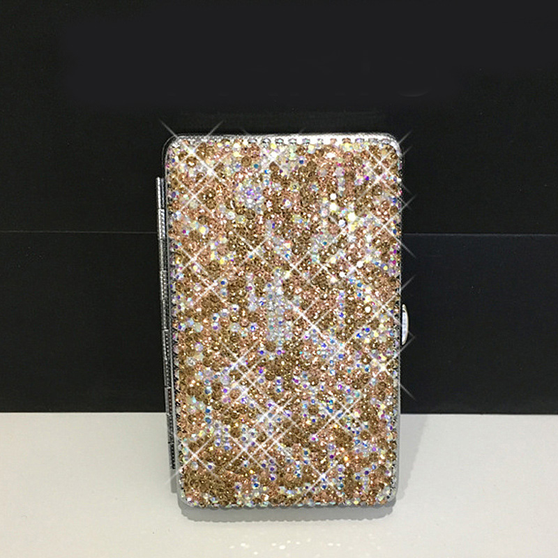 Portable-Women-Double-Sided-Diamond-Case-Bling-Crystal-Slim-Cigarette-Box-Holder-For-14-Pcs-Cigarettes-USB-Charging-2