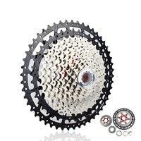 10 11 12 velocidade cassete 11 40 t 42 t 46 t 50 t ampla relação roda livre mountain bike mtb bicicleta cassete roda dentada para shimano sram|Catraca de bicicleta| |  -