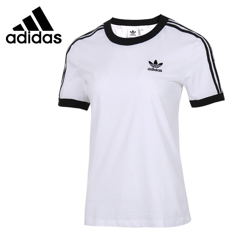 Original New Arrival Adidas Originals 3 STR TEE  Women s T-shirts  short sleeve Sportswear