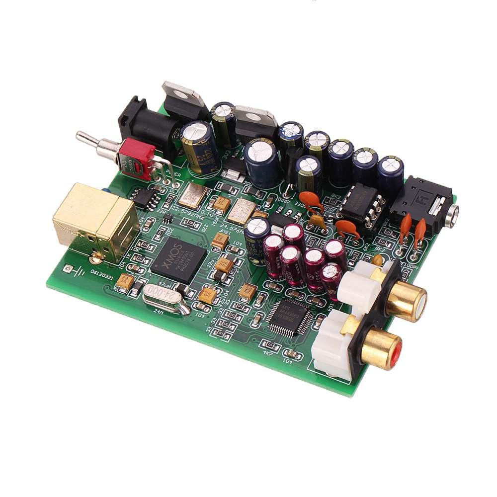 Xmos U8+AK4490+NE5532 USB DAC Decoding Completed board