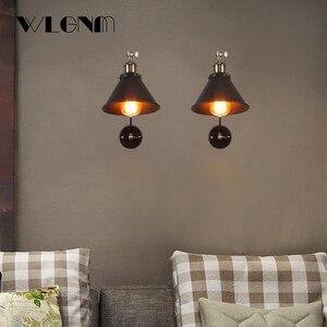 Image 5 - ヴィンテージ壁ランプ産業調節可能な led ウォール燭台壁寝室のカントリーレトロ照明