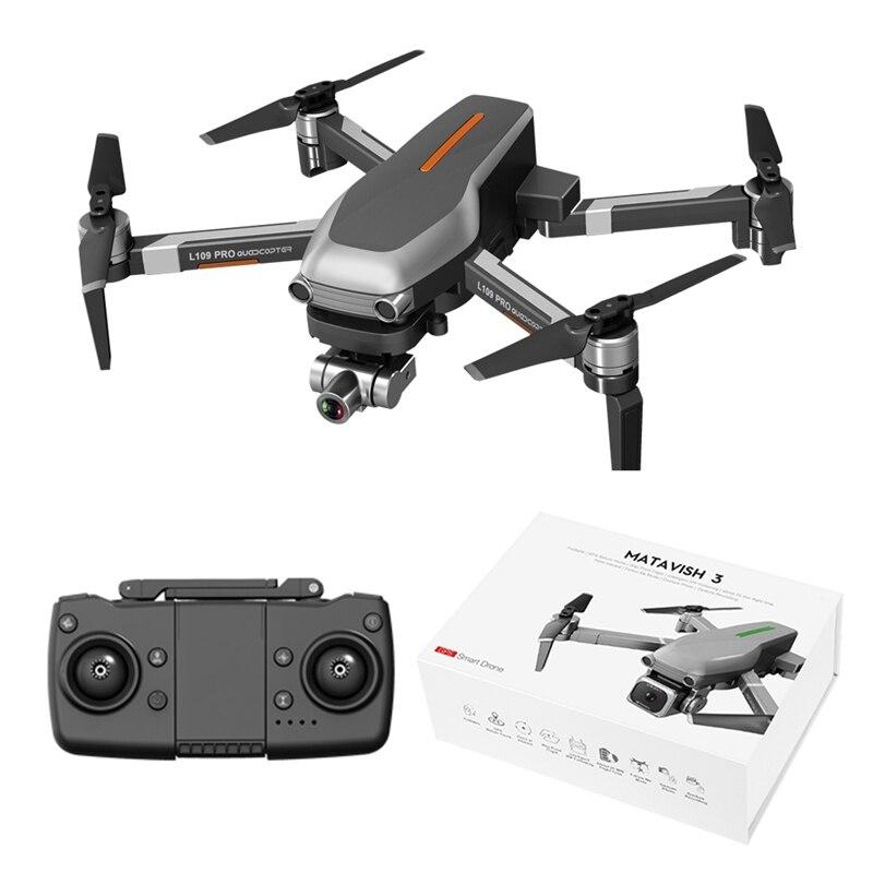 Drone 4k profesional RC Drone 5G L109-PRO GPS 4K HD Camera WIFI FPV Brushless Motor Foldable Selfie Drones Professional
