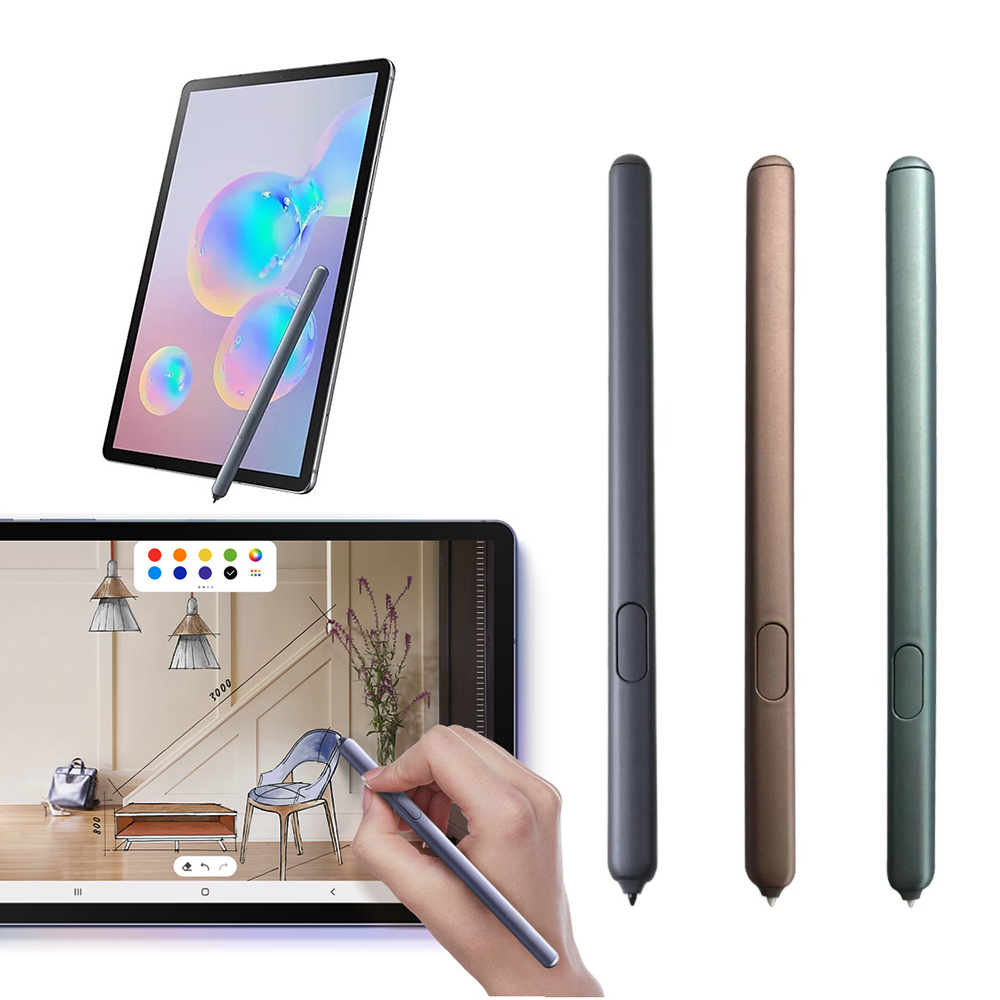Caneta de tela de toque stylus ativo para tab s6 lite p610 p615 10.4 polegada tablet caneta caneta caneta eletromagnética para samsung tab|Canetas p/ tablet|   -