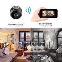 A9 Мини Full-HD 1080P маленькая Wifi камера Wifi IP мини камера ИК ночного видения микро камера обнаружения движения камера Поддержка TF карта 4