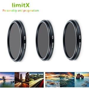 Image 2 - ND2 ND4 ND8 Mật Độ Trung Tính Bộ Lọc ND & Adapter Vòng ống kính giữ cho Máy Panasonic LX10 LX15 TZ200 TZ100 TZ220 ZS200 TX2 ZS100