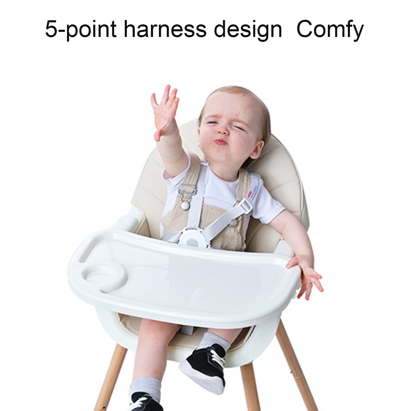 Детский высокий стул, подлинный портативный стул для кормления, детский высокий стул, Многофункциональный Детский обеденный стул 2