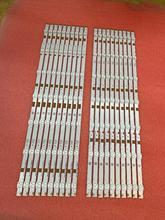 Новинка 20 шт./компл. светодиодный (3 В) 575 мм Светодиодная лента для подсветки телевизора 55 дюймов LB55065 V0 _ 04 V1_04 77900 E213009