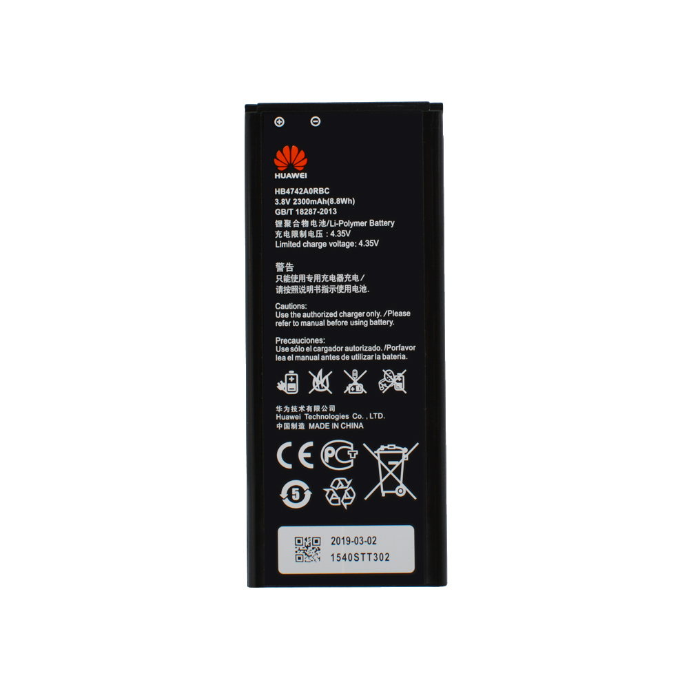 HuaWei 100% Batterie d'origine HB4742A0RBC Pour Huawei Honor 3C G630 G730 G740 H30-T00 H30-T10 H30-U10 H30 Batterie Haute Capacité