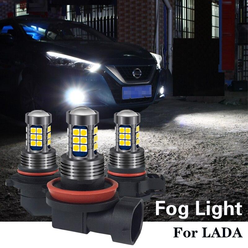 1 шт. H8 H11 HB4 9006 HB3 H16 Canbus светодиодный светильник лампа для Niva Lada 4x4 Kalina Granta Primera vesta vaz 2107 2106 2109 2112