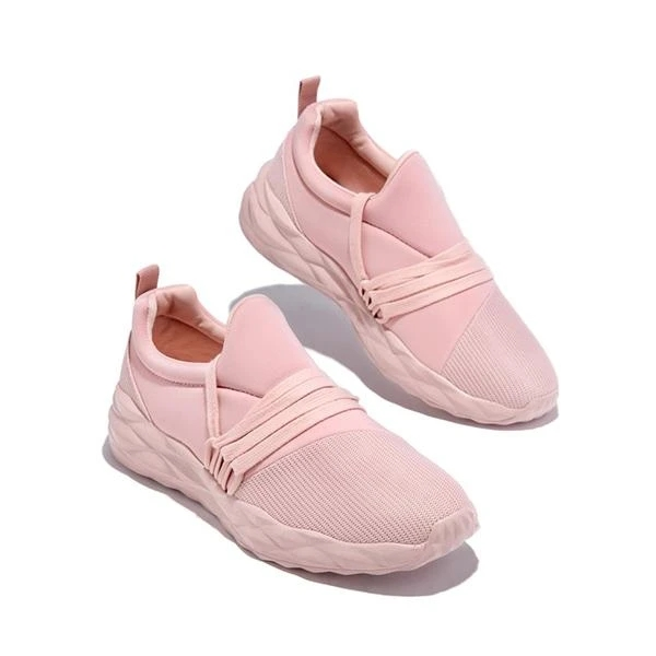 Women Sneakers Casual Soild Color Increased Comfortable Running Shoes Outdoor Walking Jogging Females Shoes Fashion Ladies Shoe