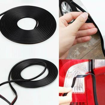 16ft Car Door Edge Trim Molding Rubber Seal Strip Scratch Protector Decor Guard N8C2 image