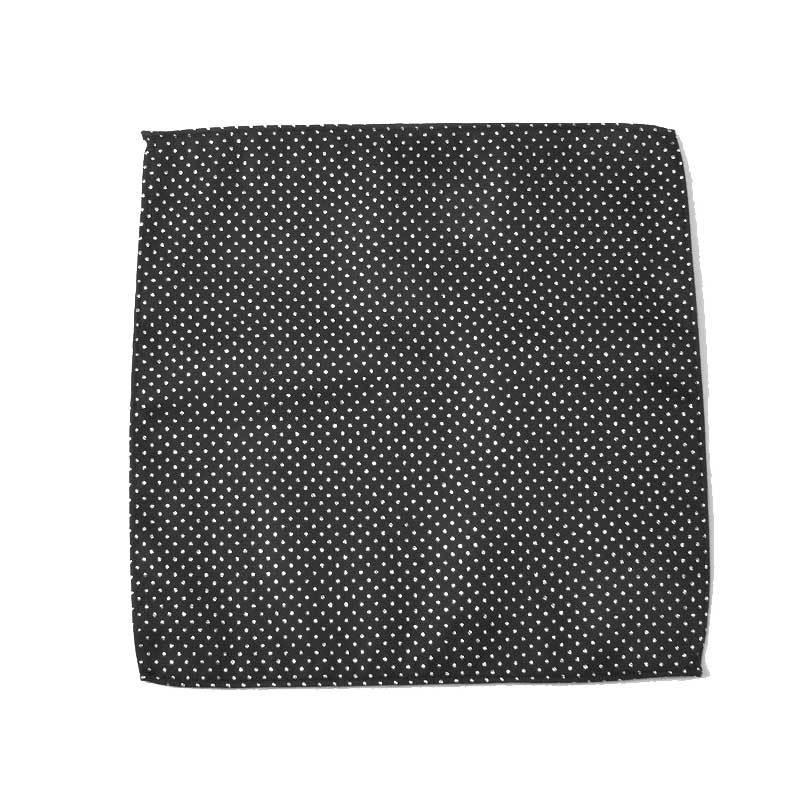 Suit Shirt Pocket Square Men Filigree Craft Polka Dot Polyester Small Square Towel