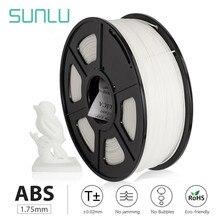 Sunlu 1.75mm abs 3d filamento 1kg plástico abs 3d impressora filamentos 3d materiais de impressão transporte rápido