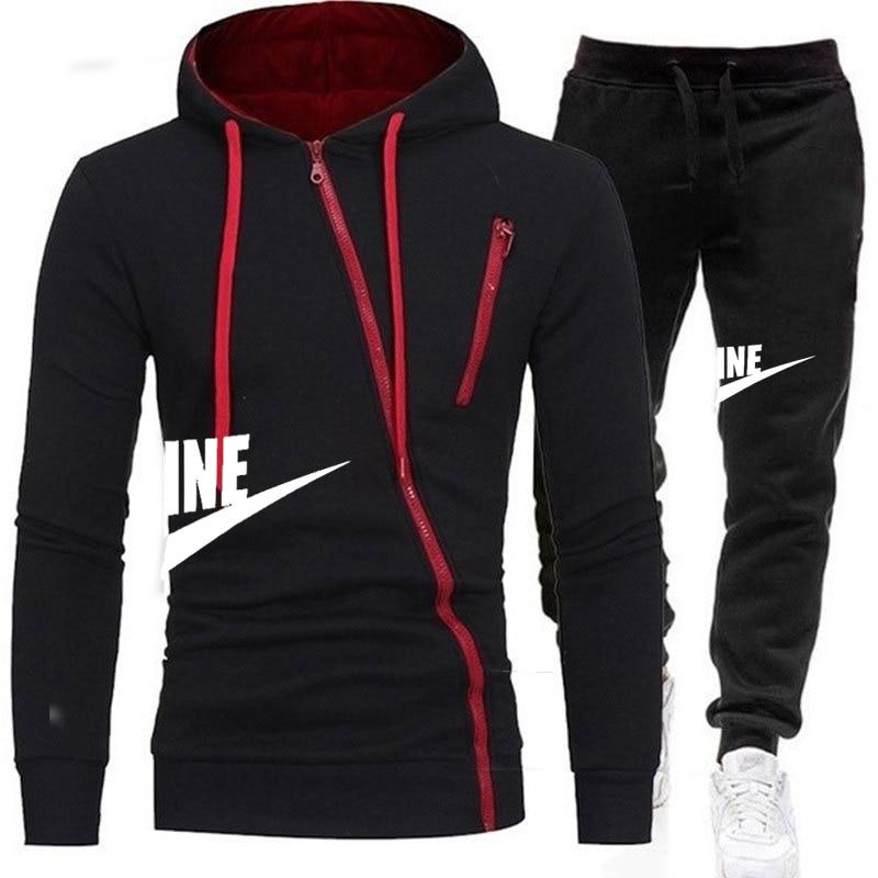 New Brand Men Clothing Sets Tracksuit 2 Piece Sets Hoodies+Pants Men's Sweater Set Sports Suit Streetswear Jackets 2020