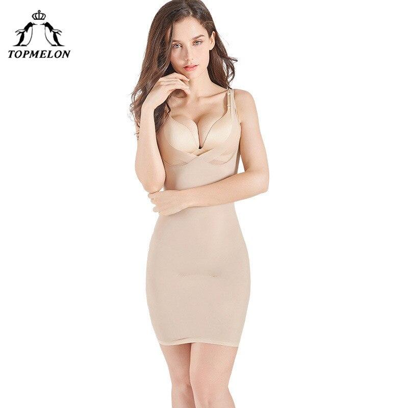 Women Control Slips Women's Underwear Petticoat Under Shaper Dress Intimates Combination Petticoat Sexy Lingerie Shapewear