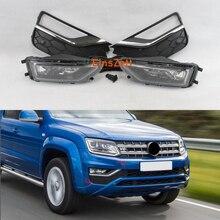 1set Car Fog Light Kit For Volkswagen Amarok 2016 2018 Car Headlight Halogen Bulb Daytime Running Light with Cover Switch