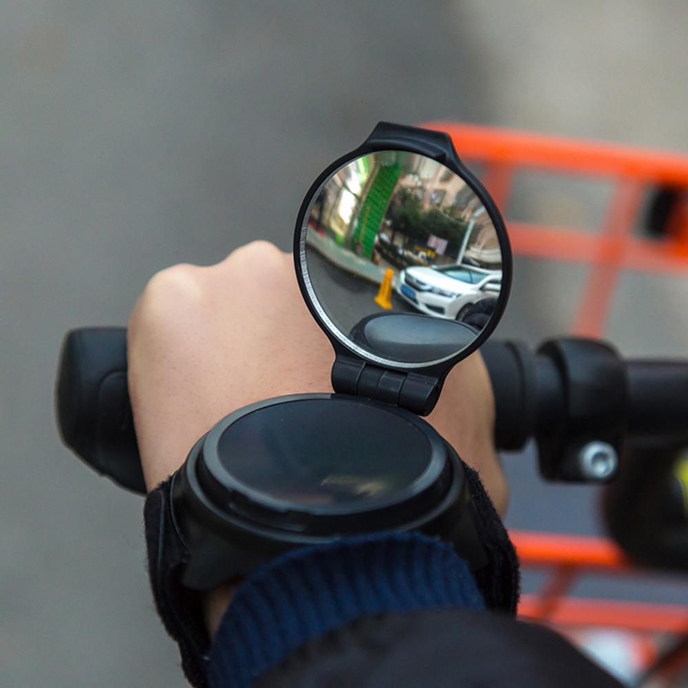 Vélo rétroviseur cyclisme bracelet sangle Reflex vue arrière bras rétroviseur poignet gants de cyclisme