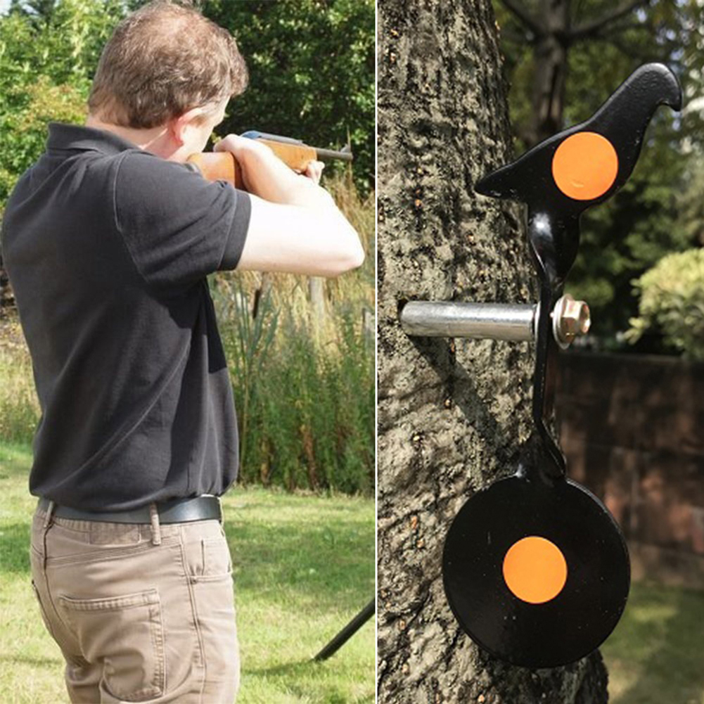 3Pcs/10pcs Hunting Stainless Steel Target Bullseye Shooting Target For Slingshot Reactive Splatter Paper Target Sticker New N20