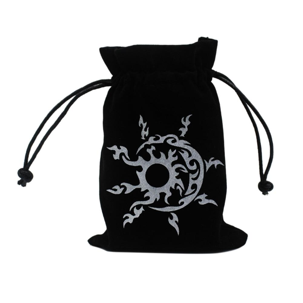 Tarot Card Storage Bag Toy Jewelry Home Mini Drawstring Package Board Game Tarot Storage Bag 13cmx18cm