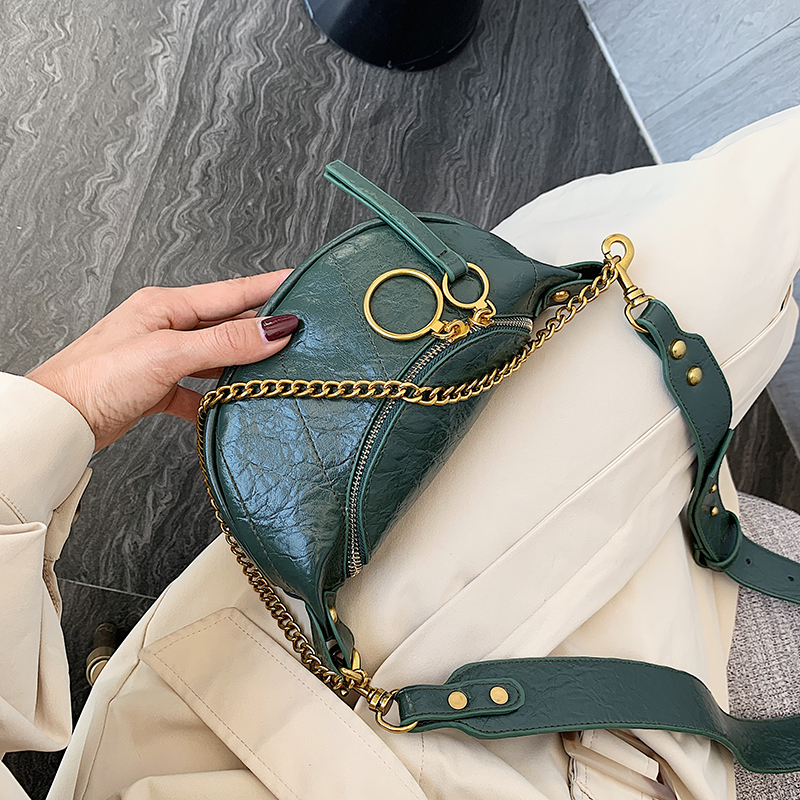 Hb4f957cff2114b5e9bc94b565b6ff2dfL - Fashion Quality PU Leather Crossbody Bags For Women Chain Small Shoulder Messenger Bag Lady Travel Handbags and Purses