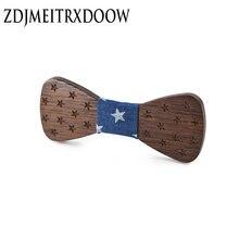 Детские деревянные галстуки бабочки для маленьких мальчиков
