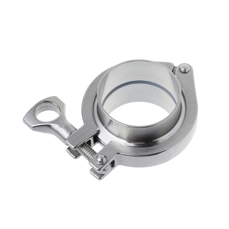 304 Stainless Steel Sanitary Clamp Quick-connect Joint Sanitary Grade Chuck Quick-fit Joint Plumbing Pipe Ring Seal Set