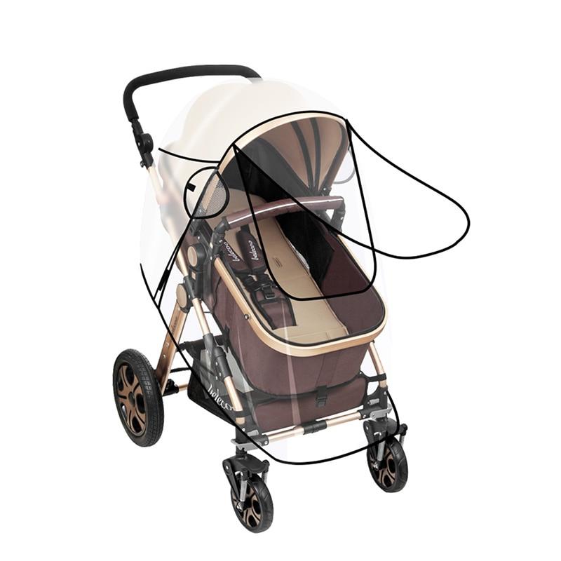 Аксессуары для коляски, дождевик для Babyzen Yoyo, детское ветрозащитное водонепроницаемое кресло-коляска для новорожденного, универсальный плащ 5