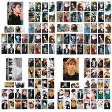 30Pcs/Set KPOP EXO Album Self Made Paper Lomo Card Photo Poster Fans Gift Collection Stationery Set
