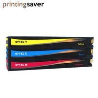 Bunte tinte patrone kompatibel für HP970 970XL HP971 971XL Für HP Officejet Pro X451dn X451dw X476dn X476dw X551dw X576dw