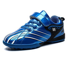 Trainers Football-Shoes Gold-Sneakers Waterproof Sports Kids Tf New Anti-Slippery Cool