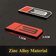 1 шт автомобильный Стайлинг 3d металлическая передняя решетка