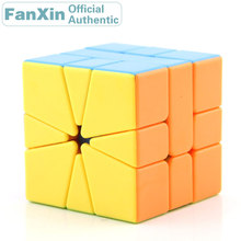 FanXin SQ-1/SQ1 Magic Cube Square-1/Square 1 Professional Speed Puzzle Plastic Twisty Brain Teasers Antistress Educational Toys цена 2017