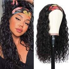 VRBest – perruque brésilienne ondulée, cheveux naturels, sans colle, faite à la Machine, pour débutants