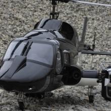 Предварительная 800 Размер Airwolf черный fuselage Вертолет& Mechanik конверсионный комплект
