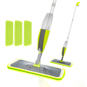 VIP Spray Mop Broom Set Magic Mop Wooden Floor Flat Mops Home Cleaning Tool Household with Reusable Microfiber Pads Lazy Mop(China)