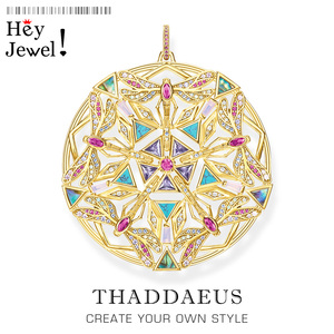 Pendant Amulet Kaleidoscope Dragonfly,2020 Brand New Jewelry Europe Bijoux 925 Sterling Silver Elaborate Cut Out Gift For Woman