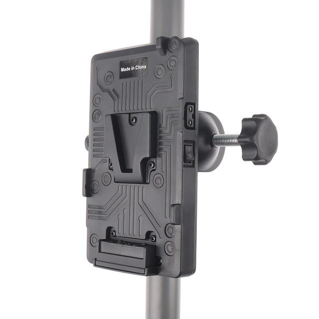BP adaptateur de batterie arrière V plaque de montage de verrouillage pour Sony d tap DSLR Rig externe