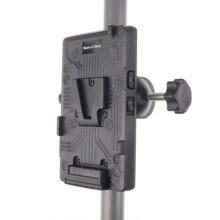 BP tylna pokrywa baterii Adapter V blokada płyta montażowa do Sony d tap statyw DSLR zewnętrzny
