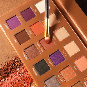 Image 5 - O.TWO.O Darling Eye Shadow Palette 21 Colors Matte Shimmer Pigmented Shadows Easy to Blend Rich Color Eyeshadow For Daily Use
