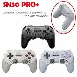 8 8bitdo SN30 برو الأصلي أذرع التحكم في ألعاب الفيديو سماعة لاسلكية تعمل بالبلوتوث غمبد ل التبديل/ويندوز/البخار/ماك/الروبوت الألعاب اكسسوارات