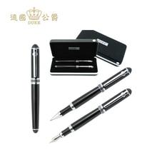 Duke D2 stylo à bille et fontaine de haute qualité, stylo taille moyenne 0.5mm, écriture pour cadeaux daffaires, papeterie de bureau et école