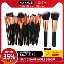MAANGE 20/22Pcs Beauty Makeup Brushes Set Cosmetic Foundation Powder Blush Eye Shadow Lip Blend Make Up Brush Tool Kit Maquiagem