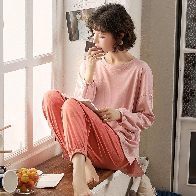 3521 # Autumn Pajamas WOMEN'S Suit Tracksuit Knitted 6535 M -Xxl